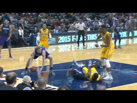 Charlotte Hornets vs Indiana Pacers   February 10, 2016   NBA 2015-16 Season