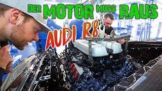 AUDI R8 mit 160.000€ Schaden wird umgebaut - TEIL 1