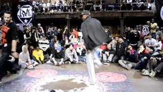 Juste Debout NY 2011 Final Top Rock Battle: SamO vs Nemesis