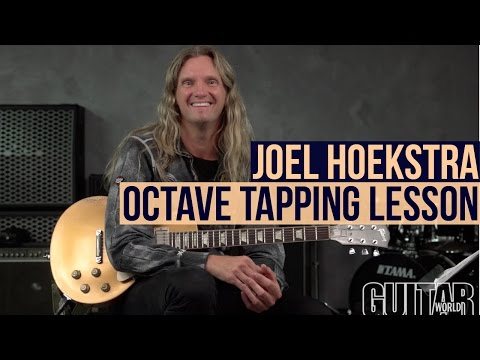 Octave Finger Tapping Licks!  With Joel Hoekstra!