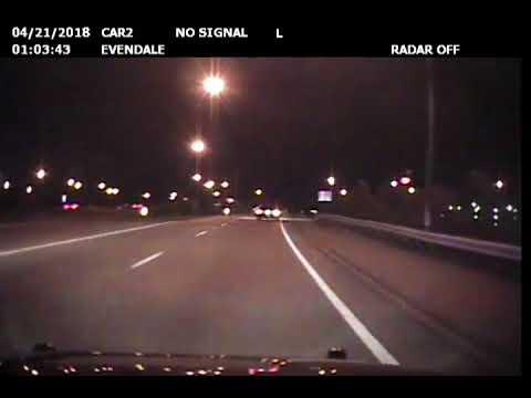 Evendale police pursuit before fiery crash