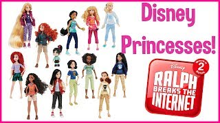 Disney Princess Casual Outfits Ralph Breaks the Internet Doll Review