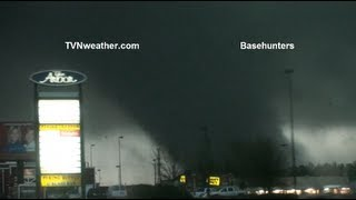 NEW Absolutely incredible tornado video from Hattiesburg, MS EF4