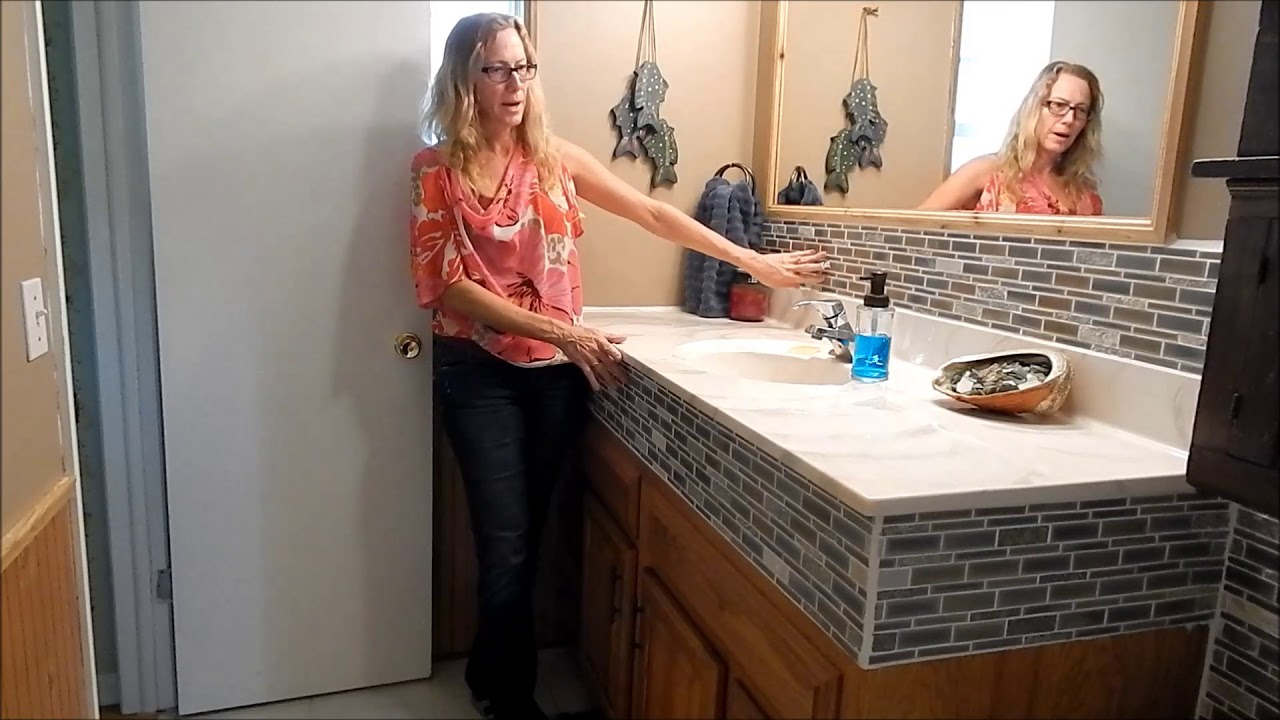 How To Easily Raise Your Bathroom Cabinet Sink Youtube