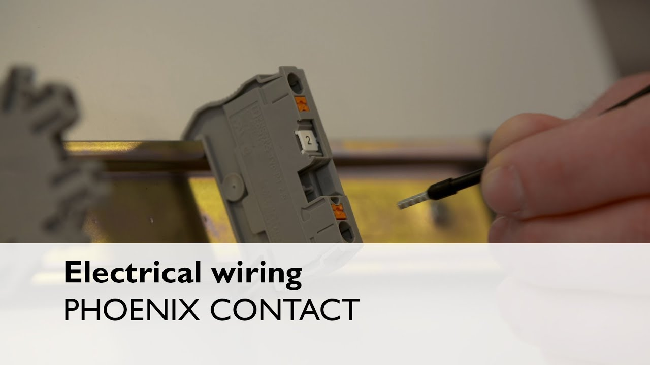 Electrical wiring made easy with Push-in technology and CRIMPHANDY on