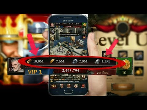 Clash Of Kings Mod Apk 2018 Unlimited Million Coins And Everything