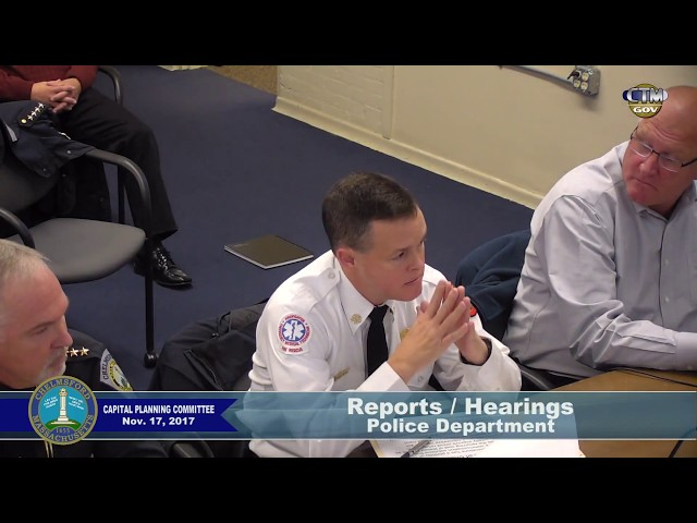 Capital Planning Committee – November 17, 2017
