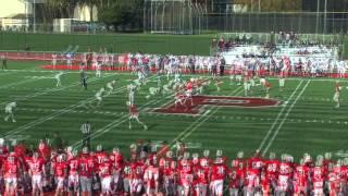 Pacific University Football Highlights vs. Univ. of Chicago, Oct. 26, 2013