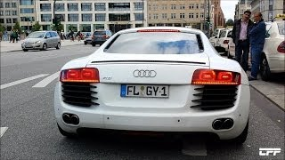 Audi R8 V8 Stock vs. Capristo Exhaust!