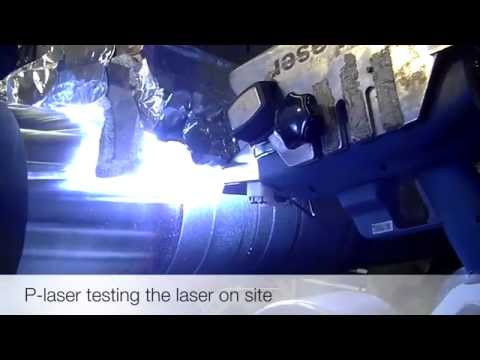 P-Laser Weld pretreatment and cleaning