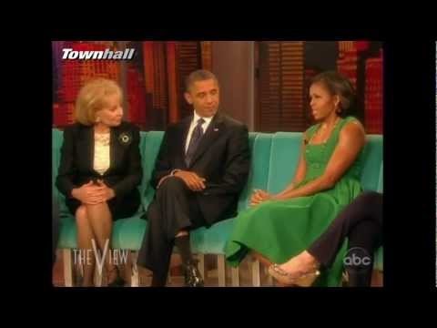"""Barack & Michelle Obama on the """"View"""" [Complete]"""