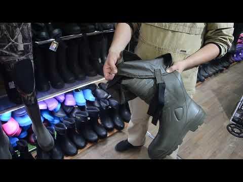 Обувь для осенней рыбалки
