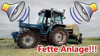 Farm Vlog: Werkstatt | Neues Radio für meinen Ford | Autoradio einbauen