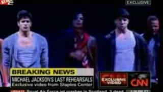 Michael Jackson's Last Rehearsal *Exclusive footage* Full Dress- 2 days before he died.