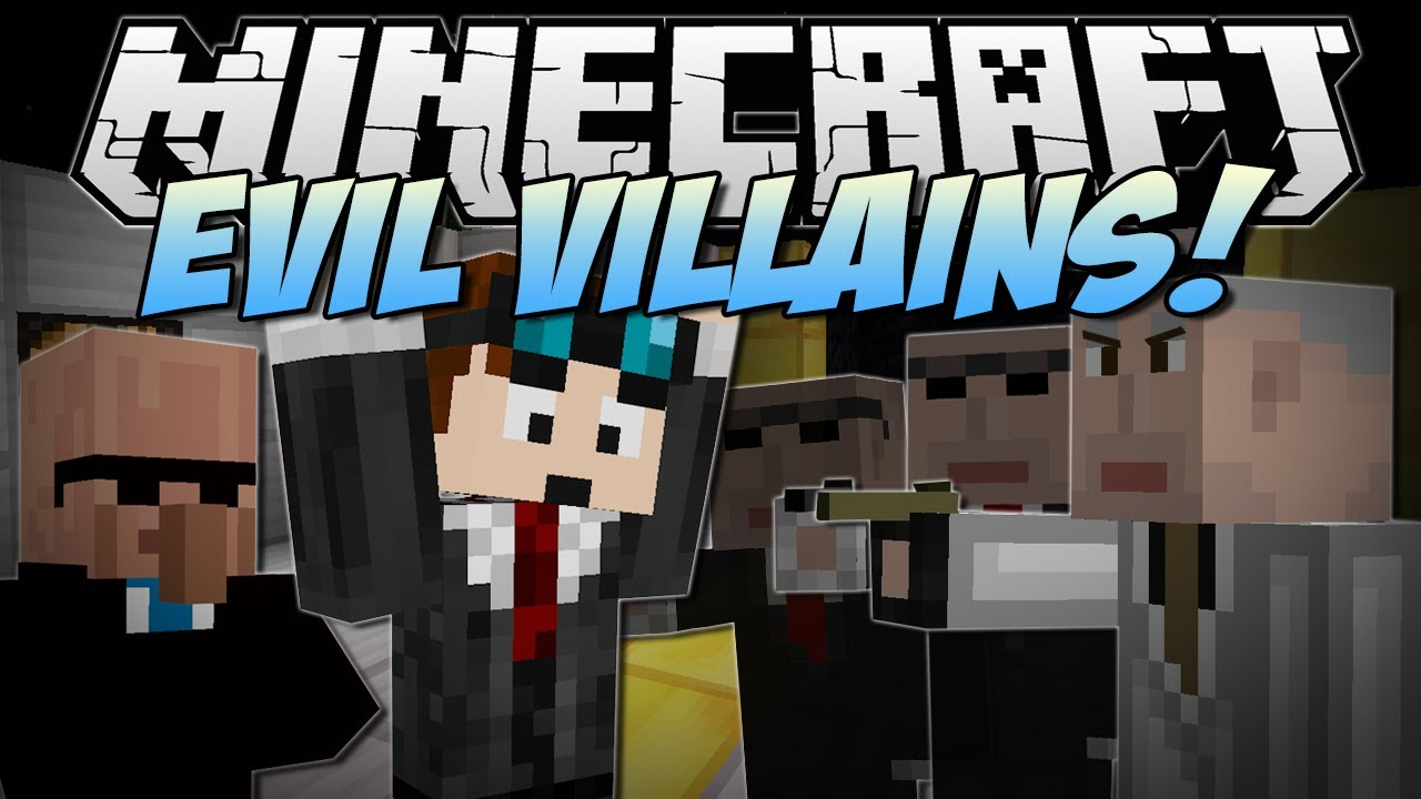 Minecraft   EVIL VILLAINS! (Jetpacks, Ninjas, Arch Agents & More!)   Mod Showcase