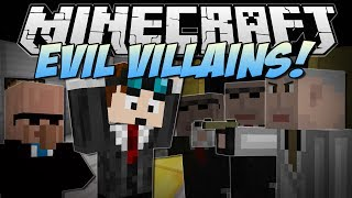 Minecraft | EVIL VILLAINS! (Jetpacks, Ninjas, Arch Agents & More!) | Mod Showcase
