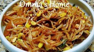 Recipe: Healthy Vegan Spicy Stir Fried Soybean Sprouts Aka Kongnamul Bokkeum (콩나물볶음)