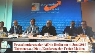Journalistin fragt bei AfD-Pressekonferenz nach Stürzenberger