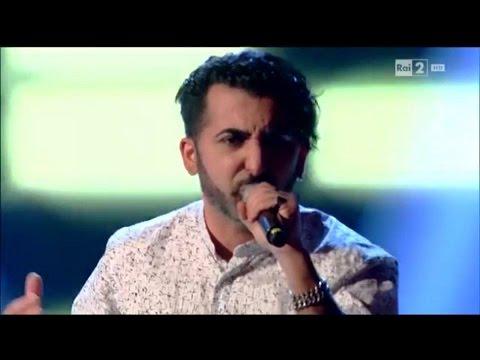 Davide Ruda ( DAVE )   Bad Medicine   Blind 1   The Voice of Italy 2016   INTEGRALE