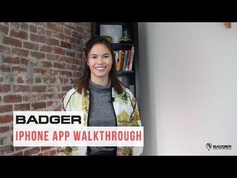Badger Maps IPhone App - Walkthrough
