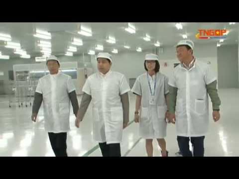 Chủ tịch UBND tỉnh thăm Công ty TNHH Samsung Electro – Mechanics Vietnam.