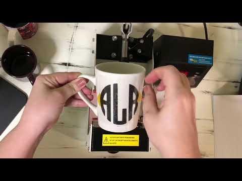 HPN MPRESS Mug Press Using Dollar Tree Mug
