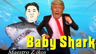 Donald Trump Sings Baby Shark