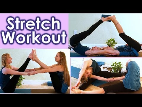 stretch-routine-for-full-body-flexibility,-partner-stretching-for-dance-&-cheer,-how-to-yoga-at-home
