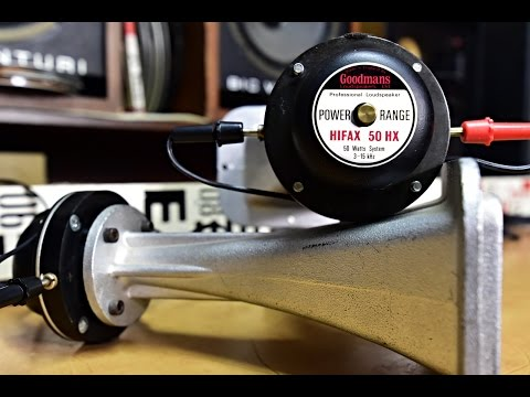 DEMONSTRATION - How works the condenser (capacitor) in the speaker crossover? TIPS AND TRICKS (14.)