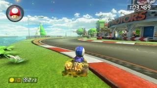 GCN Yoshi Circuit - 1:39.020 - SuperTG (Mario Kart 8 World Record)