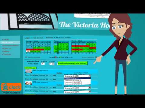 Hotel Web Booking Engine With Clock Evo Property Management Software