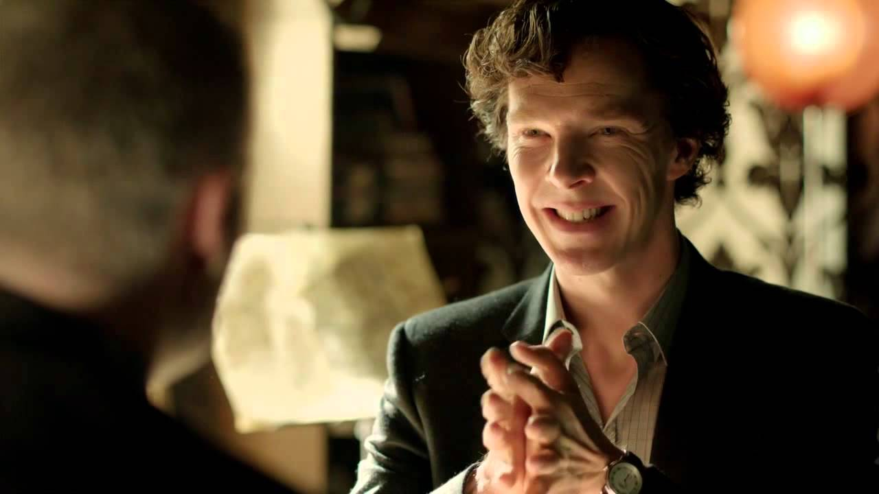 Benedict Cumberbatch - Sherlock Smile - YouTube