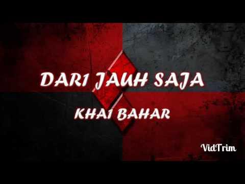 Dari Jauh Saja - Khai Bahar Lirik HD Promo