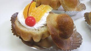【447作】ブリオッシュサバラングランマニエ作ってみた【お菓子作成】