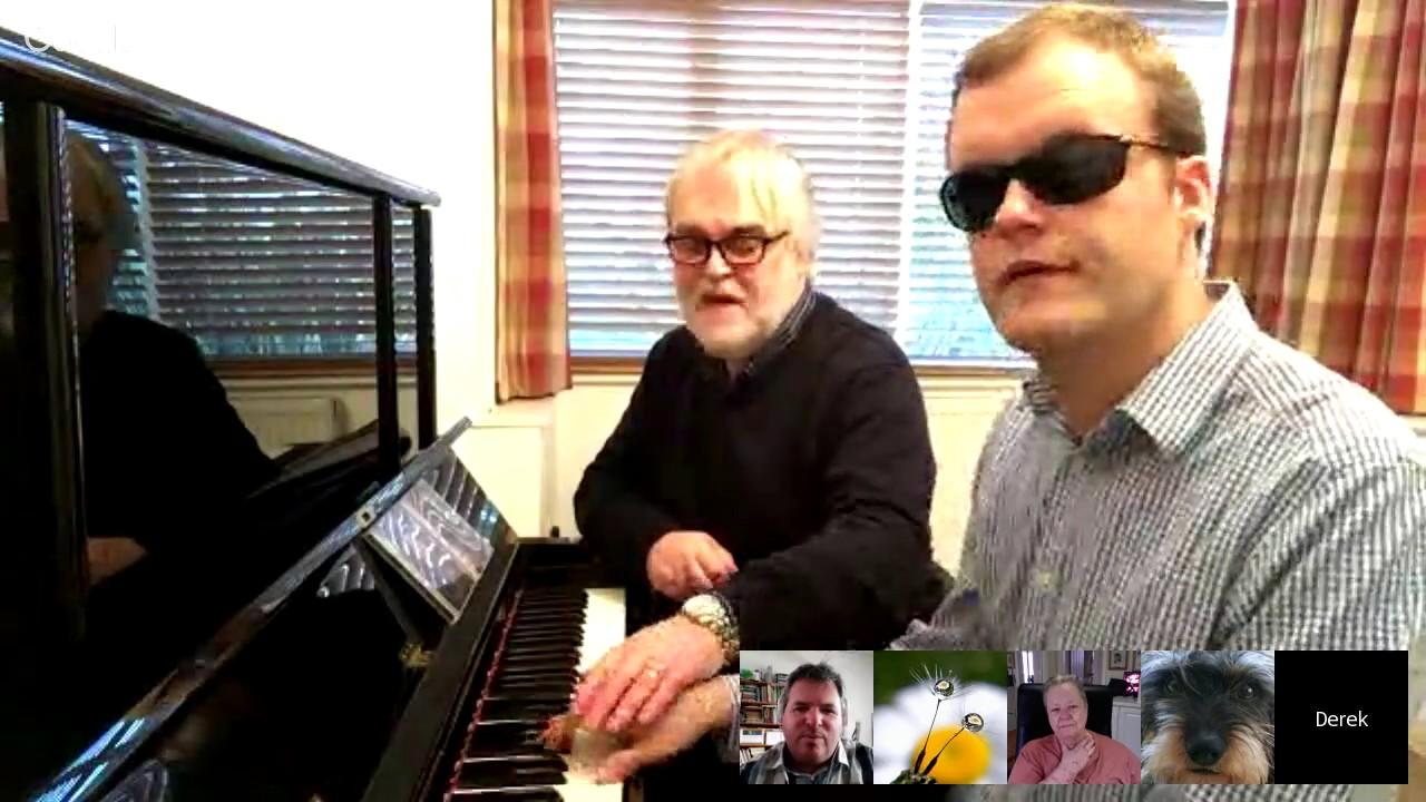 Living Maths Interview with Derek Paravacini, Adam Ockelford and ...