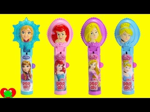 Disney Princess Lolli Pop Ups and 101+ Candies