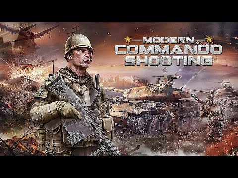 Modern Commando Combat Shooter - Android Gameplay