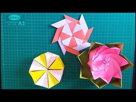 3 Adorable easy paper hacks|Easy to make origami paper DIYs