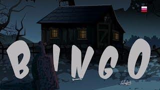страшная собака-бинго рифмы для детей Хэллоуин песни Scary Kids Songs Scary Rhyme Bingo The Dog Song