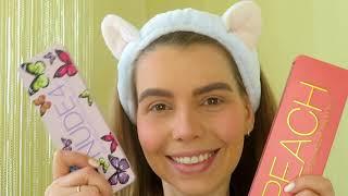 МАКИЯЖ глаз пошагово уроки поэтапно iHerb палетка отзывы 2020 makeup без макияжа каждый день МЭЙК