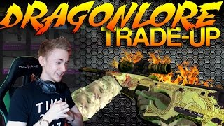 CS:GO - HIGH RISK - Dragon Lore Tradeup!!!
