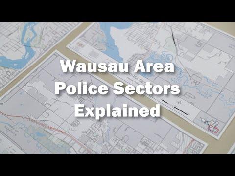Wausau Police Patrol Sectors