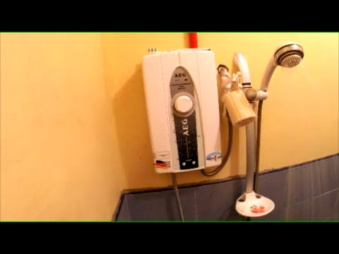 Tankless Hot Water.. I love it. - Philippines