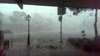 Brisbane storm 27th November 2014