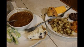 Video Lunch on the Deck ~~ Fresh Veggies, Soup, and Blueberry Dessert download MP3, 3GP, MP4, WEBM, AVI, FLV Mei 2018