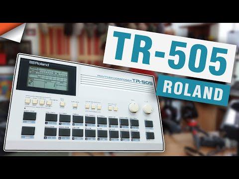 The Roland TR-505 Drum Machine