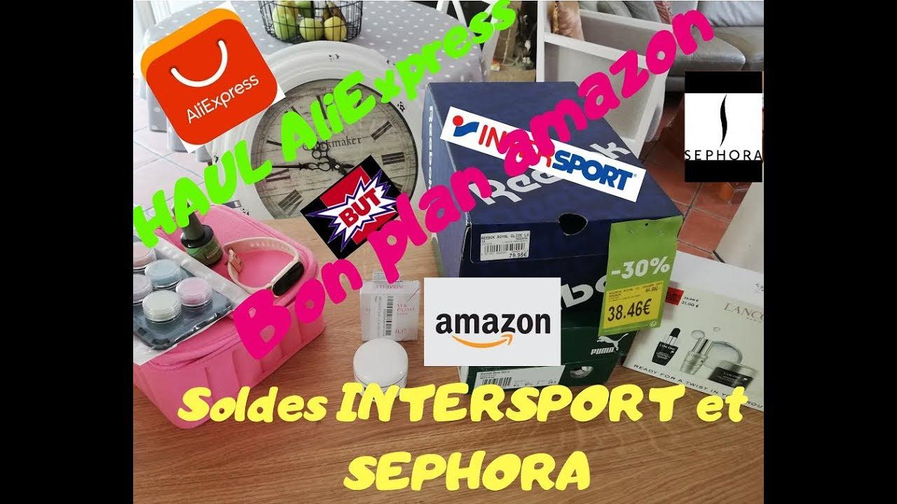 d4d7804e8d3ed Haul Aliexpress, bon plan amazon, soldes Intersport,Sephora et But.