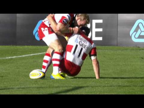 Try of the Week Round 4 - James Simpson-Daniel | Aviva Premiership 2012/13