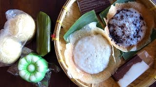 Indonesian street food taste test challenge: Eating Indonesian desserts & snacks in Solo, Indonesia Mp3