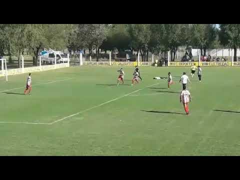 Gol Marcos Azcurra vs huracán de c. Tejedor